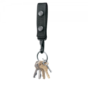 "Gould & Goodrich 2.25"" Key Strap in Black - X122"
