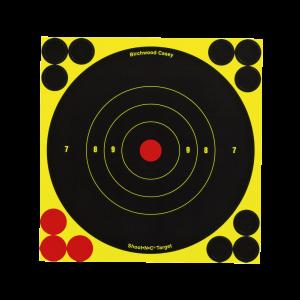 """Birchwood Casey 34512 Shoot-N-C 6"""" Bullseye 12 Pk"""