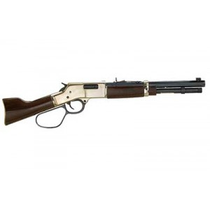 "Henry Repeating Arms Mare's Leg .45 Long Colt 5+1 12.9"" Pistol in Brass - H006CML"