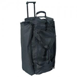 Uncle Mike's Duffel Bag Waterproof Rolling Duffel Bag in Black Canvas - 5245