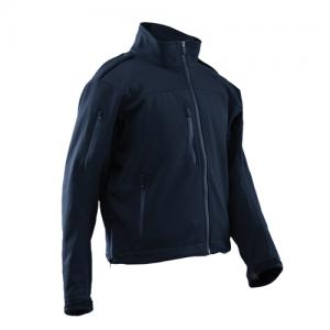 Tru Spec 24-7 LE Softshell Men's Full Zip Coat in Navy - 4X-Large