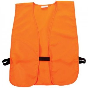 Allen Company Safety Vest in Acrylic Orange - One Size Fits Most