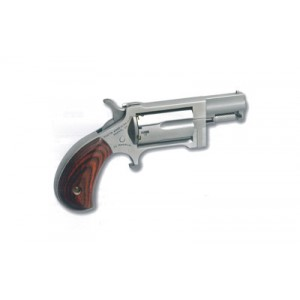 """North American Arms Mini-Revolver .22 Winchester Magnum 5-Shot 1"""" Revolver in Stainless - NAA-SW"""