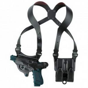 107 Flatesider XR7 Shoulder Holster Color: Black Gun: Smith & Wesson M&P .40 Hand: Right - H107BPRU-MP 40