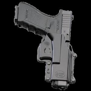 Fobus GL2BHLH Standard Belt Glock 17/19/22/23/31/32/34/35 Plastic Black - GL2BHLH