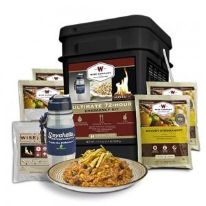 Wise Foods 05715 Emergency Supplies Ultimate 72-Hour Emergency Kit 72 Servings