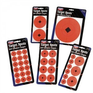 """Birchwood Casey 1"""" Target Spots 36 per page 10 pages per pack 33901"""