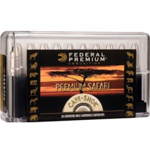 Federal Cartridge .375 H&H Magnum Trophy Bonded Bear Claw, 300 Grain (20 Rounds) - P375T3