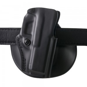 "Safariland Model 5198 Right-Hand Paddle Holster for Glock 17, 22, 19, 23 in Black (4"") - 5198283411"