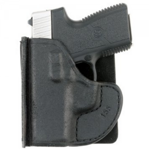 Aker Leather 155 Pocket Protector Express Right-Hand Pocket  Holster for Ruger LCP in Black - H155BPU-RU LCP