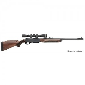 """Remington 750 Woodmaster .243 Winchester 4-Round 22"""" Semi-Automatic Rifle in Blued - 27055"""