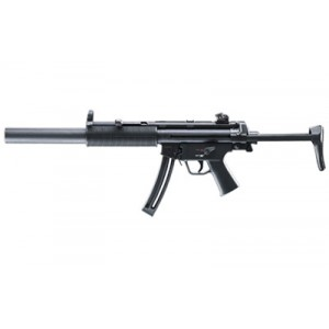"""Walther USA MP5 A5 .22 Long Rifle 10-Round 16.1"""" Semi-Automatic Rifle in Black - 578031110"""