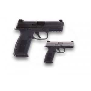 """FN Herstal FNS-40 .40 S&W 10+1 4"""" Pistol in Black (Ambidextrous Manual Safety) - 66696"""