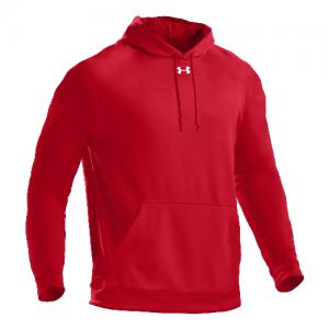 Under Armour SOAS Storm Men's Pullover Hoodie in Red - X-Large