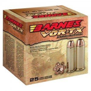 Barnes Bullets VOR-TX .44 Remington Magnum XPB, 225 Grain (20 Rounds) - 21545