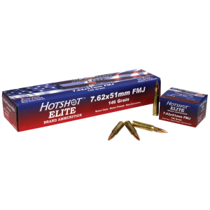 Century Arms 7.62 NATO Full Metal Jacket, 146 Grain (20 Rounds) - AM1966