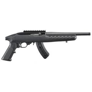 "Ruger 22 Charger .22 Long Rifle 15+1 10"" Pistol in Matte Black - 4923"