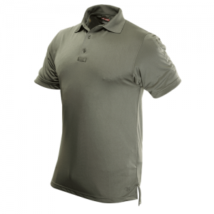 Tru Spec 24-7 Performance Men's Short Sleeve Polo in Classic Green - Large