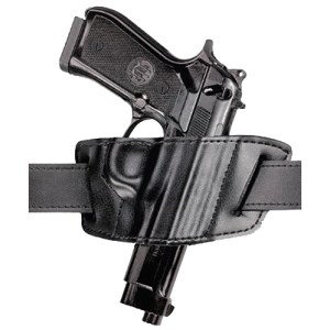 "Safariland Model 527 Right-Hand Belt Holster for Colt King Cobra, Python, Trooper in Black (1.75"") - 5270961"