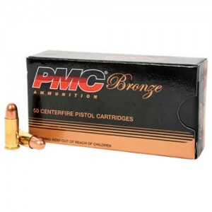 PMC Ammunition .32 ACP Full Metal Jacket, 71 Grain (50 Rounds) - 32A