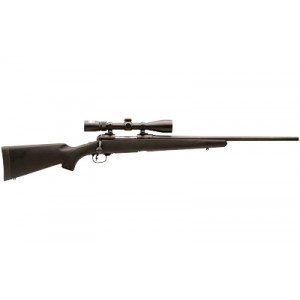 """Savage Arms 11/111 .223 Remington/5.56 NATO Trophy Hunter XP Youth 4-Round 20"""" Bolt Action Rifle in Black - 19743"""