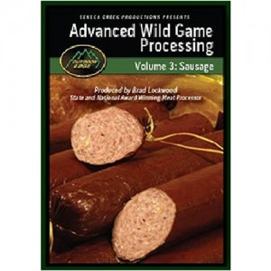 Outdoor Edge Advance Wild Game Processing Volume 3 Sausage SP101