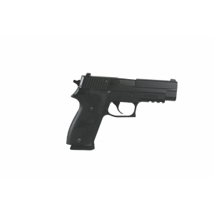 "Sig Sauer P220 Full Size CA Compliant .45 ACP 8+1 4.4"" Pistol in Black Nitron (SIGLITE Night Sights) - 220R45BSSCA"