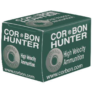 Corbon Ammunition Hunter .500 S&W Hard Cast, 440 Grain (12 Rounds) - HT500SW440HC