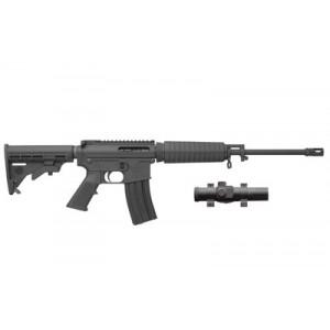 """Bushmaster Carbon 15 SuperLight .223 Remington/5.56 NATO 30-Round 16"""" Semi-Automatic Rifle in Black - 91037"""