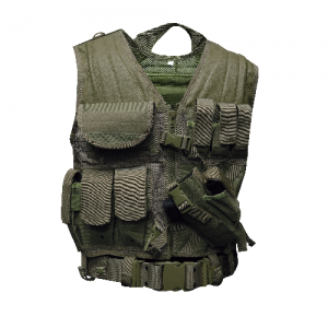 5ive Star - CDV-5S Cross Draw Vest Size: Medium/X-Large Color: OD Green