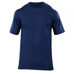 5.11 Tactical Station Wear Men's T-Shirt in Fire Navy - X-Large