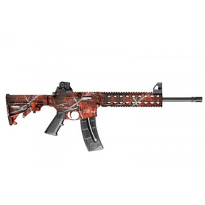 "Smith & Wesson M&P 15-22 .22 Long Rifle 25-Round 16.5"" Semi-Automatic Rifle in Harvest Moon Orange - 10043"