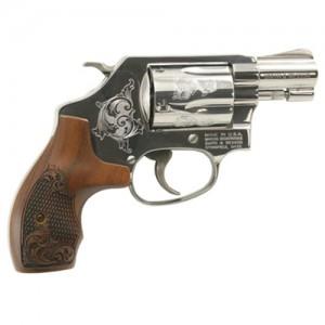 """Smith & Wesson 36 .38 Special 5-Shot 1.88"""" Revolver in Nickel - 150948"""