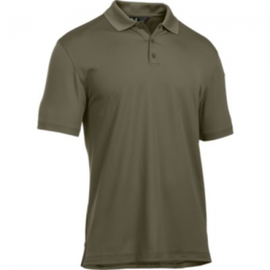 Under Armour Performance Men's Short Sleeve Polo in Marine OD Green - Large