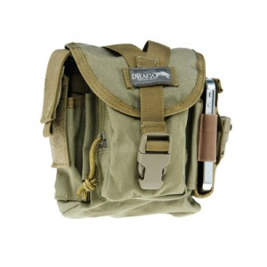 Drago Gear Patrol Pack Belt Bag in Tan Reinforced Webbing - 16302TN