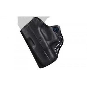 """Desantis Gunhide 19 Mini Scabbard Left-Hand Belt Holster for Springfield XD-S in Black (3.3"""") - 019BBY1Z0"""