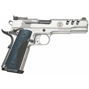 "Smith & Wesson 1911 .45 ACP 8+1 5"" 1911 in Stainless Steel (Performance Center) - 170343"