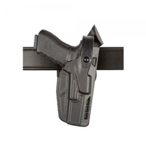7TS ALS Level III Retention Mid-Ride Duty Holster Belt Size: 2.25  Finish: STX Basket Weave Gun Fit: Glock 17 w/ ITI M3 (4.5  bbl) Hand: Left - 7360-832-482