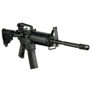 """DPMS Panther Arms AP4 .223 Remington/5.56 NATO 30-Round 16"""" Semi-Automatic Rifle in Black - 60505"""