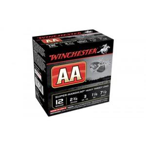 "Winchester AA Tracker .12 Gauge (2.75"") 7.5 Shot (25-Rounds) - AAHA127TB"