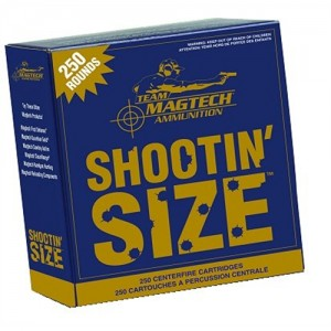 Magtech Ammunition Sport .357 Remington Magnum Semi Jacketed Soft Point, 158 Grain (250 Rounds) - MP357A