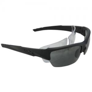 WX-Valor Glasses Lens Package: 2 Lens Package Lens: Smoke Grey / Clear Frame: Matte Black