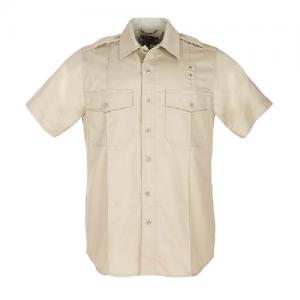 5.11 Tactical PDU Class A Women's Uniform Shirt in Silver Tan - Large