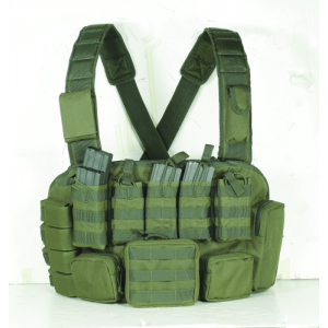 Tactical Chest Rig Color: OD Green