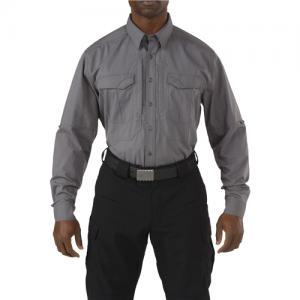 5.11 Tactical Stryke Men's Long Sleeve Uniform Shirt in Storm - 2X-Large