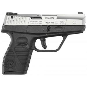 "Taurus G2 Slim Series 9mm 9+1 3"" Pistol in Stainless - 1709039G2"