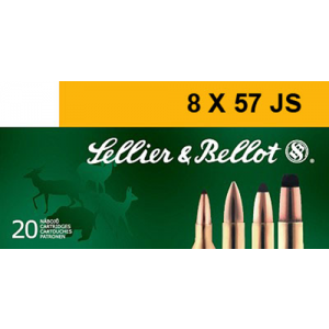 Magtech Ammunition Training 8mm Mauser Full Metal Jacket, 196 Grain (20 Rounds) - SB857JSA