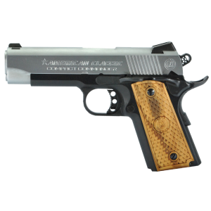 """American Classic 1911 .45 ACP 7+1 4.3"""" 1911 in Steel (Compact Commander) - ACCC45DT"""
