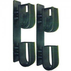 Rugged Gear Double Hook Gun Rack with Dual Locks 10040