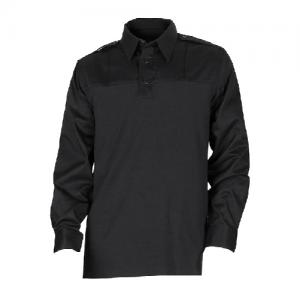 5.11 Tactical PDU Rapid Men's Long Sleeve Uniform Shirt in Black - X-Large